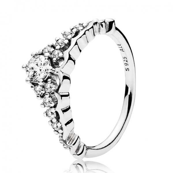 PANDORA Märchenhafte Tiara Ring 196226CZ-48