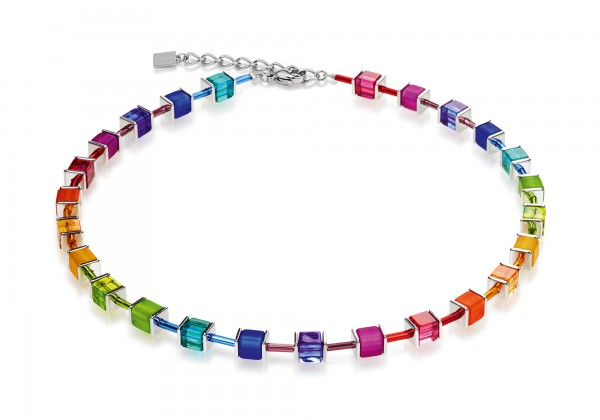 Geo Cube Collier multicolor 3986101500