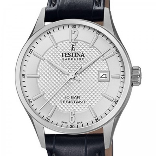 Festina Swiss Made Capsule Collection Swiss Made Damenuhr in Silber F20009/1