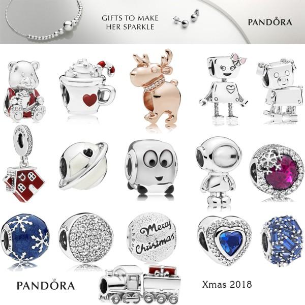 Pandora Winter- Weihnachtskollektion 2018