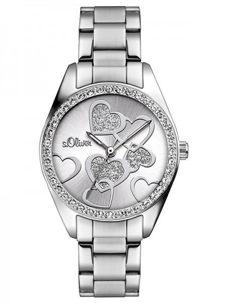 s.Oliver Damen-Armbanduhr SO-2857-MQ