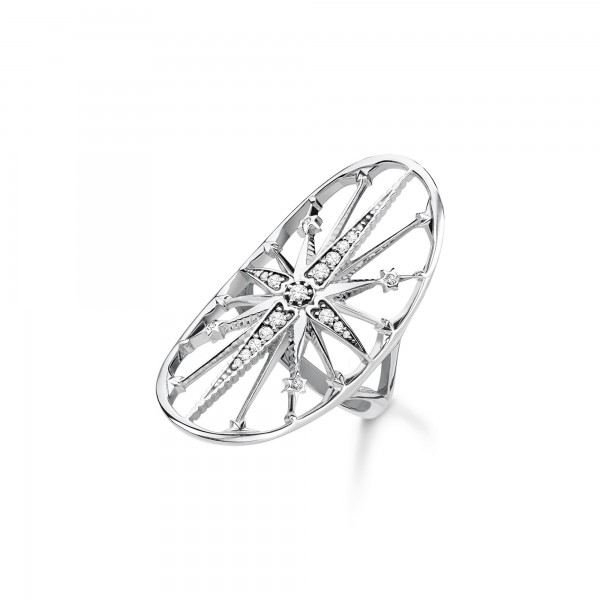 TR2222-643-14-54 Thomas Sabo Ring Royalty Stern silber
