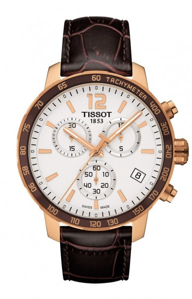 TISSOT Quickster Chronograph Herrenuhr T0954173603700