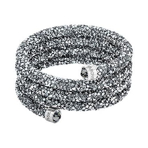 Swarovski Crystaldust Wide Armreif, grau 5292443