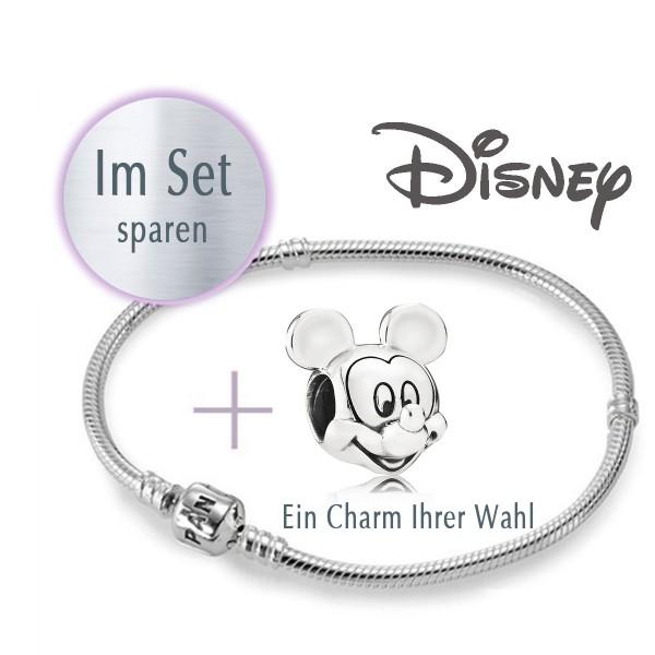 PANDORA Set - 1 Armband und 1 Disney Charm