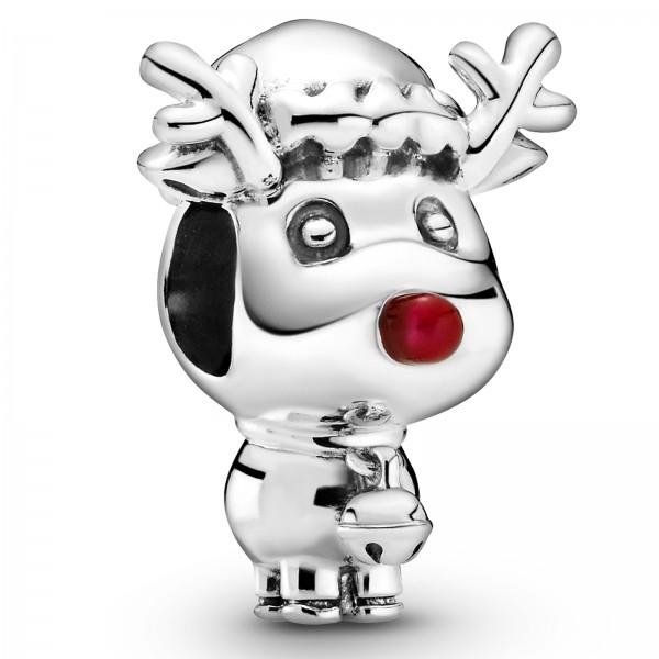 Rudolph mit der roten Nase PANDORA Charm 799208C01