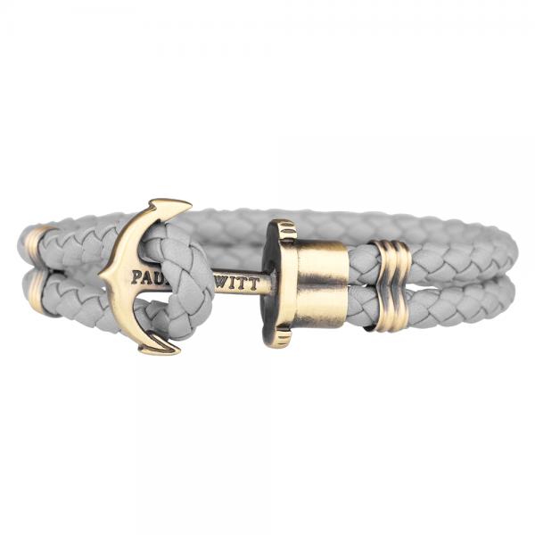 PAUL HEWITT PHREP Anker Armband Grau PH-PH-L-M-Gr-S