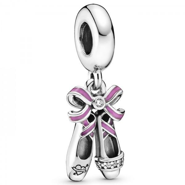 Punk Ballerina Shoes PANDORA Charm-Anhänger 798339CZ