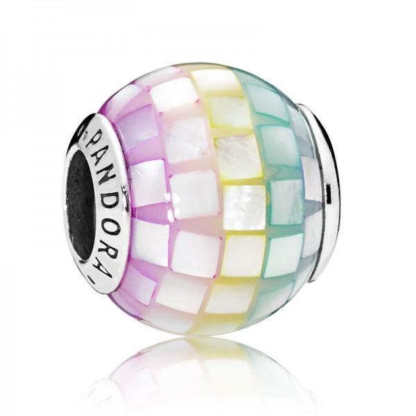 PANDORA Multi-colour Mosaic Charm 797183MPR