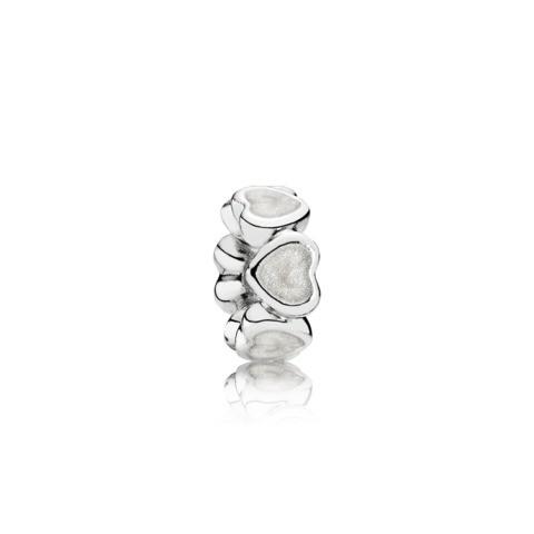 PANDORA Charm Silber-Schimmernde Liebe im Überfluss 791775EN23