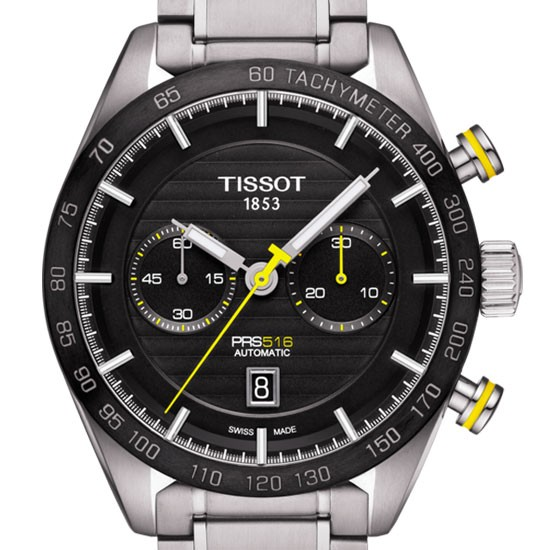 TISSOT PRS 516 AUTOMATIC CHRONOGRAPH T1004271105100 - T100.427.11.051