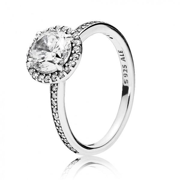 PANDORA Klassische Eleganz Ring 196250CZ