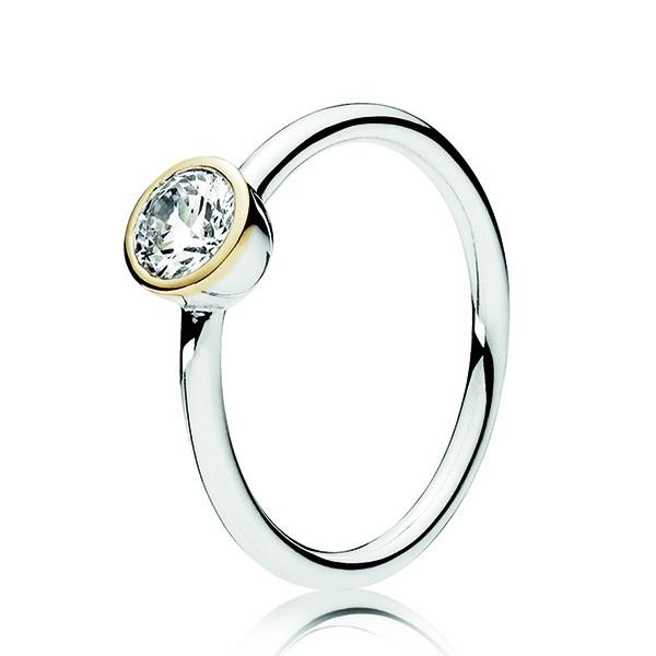 PANDORA Ring Ewige Treue 191043CZ