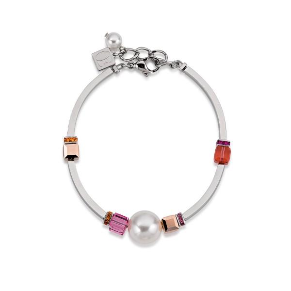 Coeur De Lion Armband Swarovski® Kristall & Crystal Pearls pink 4803300400