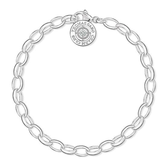 "Thomas Sabo Charm-Armband ""Diamant"" DCX0001-725-14"