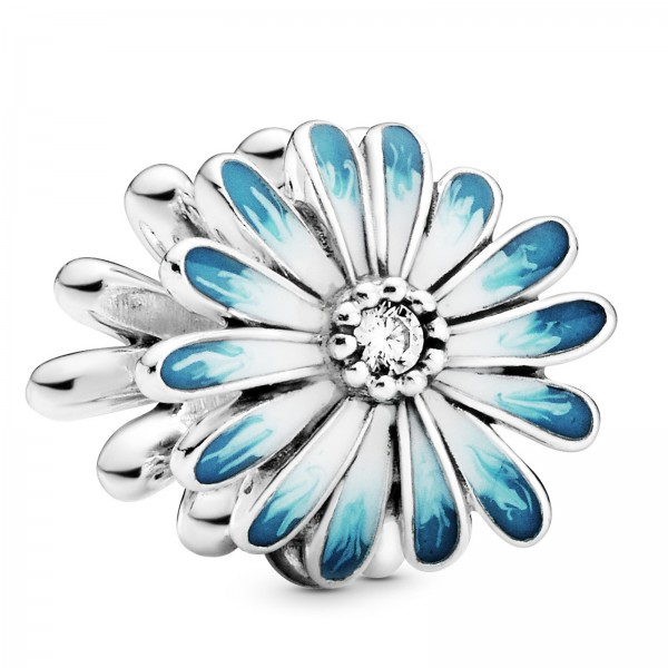 Blaues Gänseblümchen PANDORA Charm 798775C01