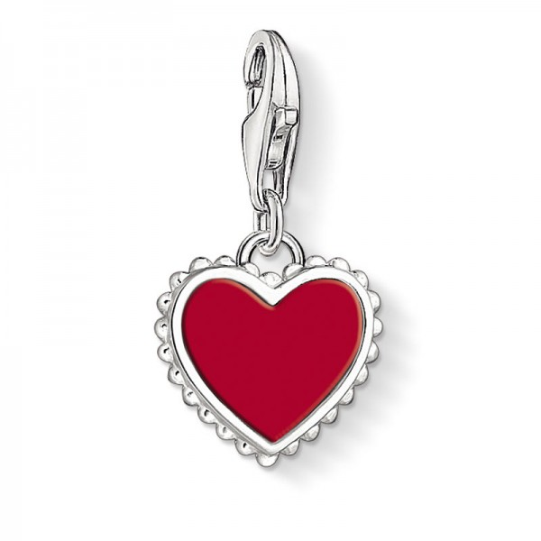 Generation Charm Club rotes Herz 1564-337-10
