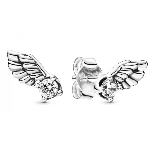 Sparkling Angel Wing PANDORA Ohrrstecker 925er Sterlingsilber 298501C01