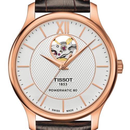 TISSOT Tradition Powermatic 80 Open Heart T0639073603800 | TISSOT | OROTIAMO