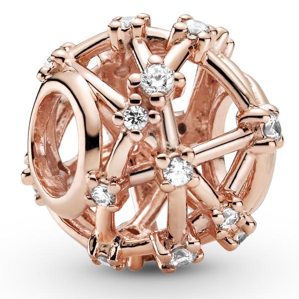 Offen gearbeitetes Sternbild PANDORA ROSE Charm 789240C01