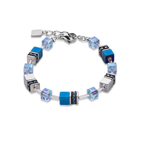 Geo Cube Armband blau 4015300700