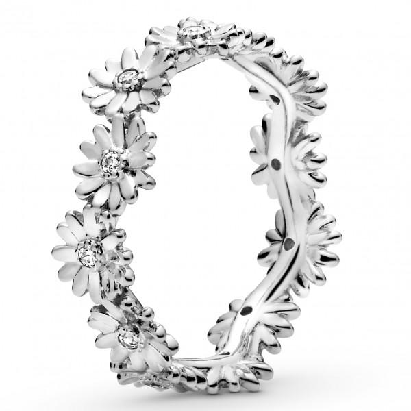 Funkelnder Gänseblümchen PANDORA Kronen-Ring 198799C01