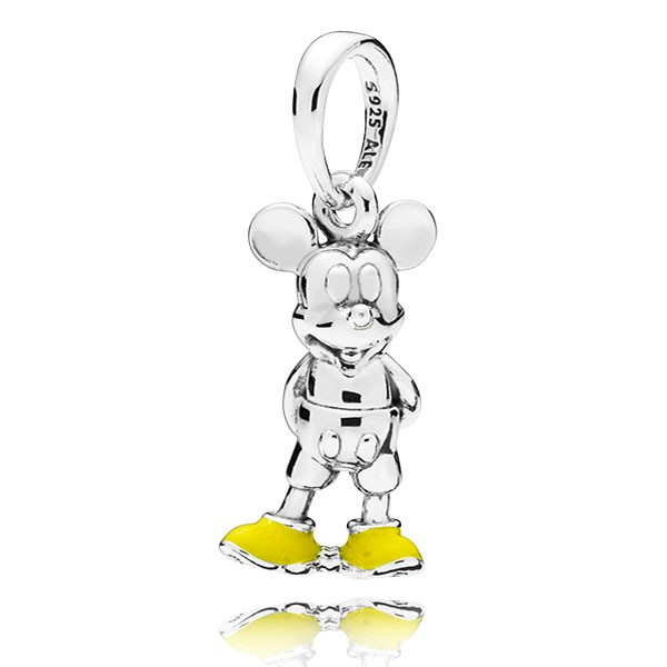 PANDORA Charm-Anhänger Disney Mickey 397394EN06