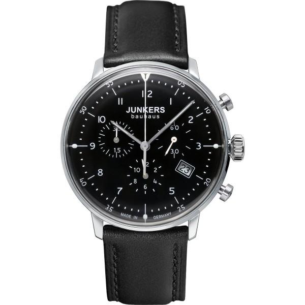 Junkers 6086-2 Bauhaus Chronograph Herrenuhr