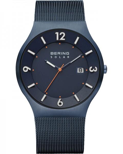 Bering Herren-Solaruhr Slimline 14440-393