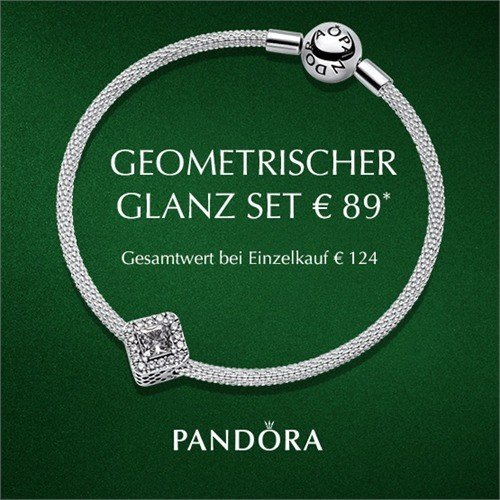 PANDORA Geometrischer Glanz Set B800789