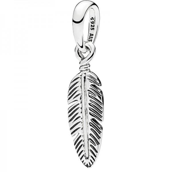 PANDORA Spiritual Feather Kettenanhänger 397216