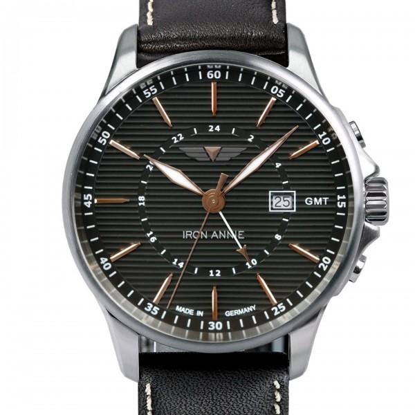 Iron Annie Herren-Uhr Wellblech GMT 5842-5
