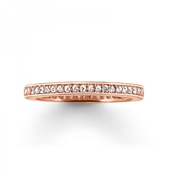 TR1983-416-14-54 Thomas Sabo Eternityring Pavé Ring
