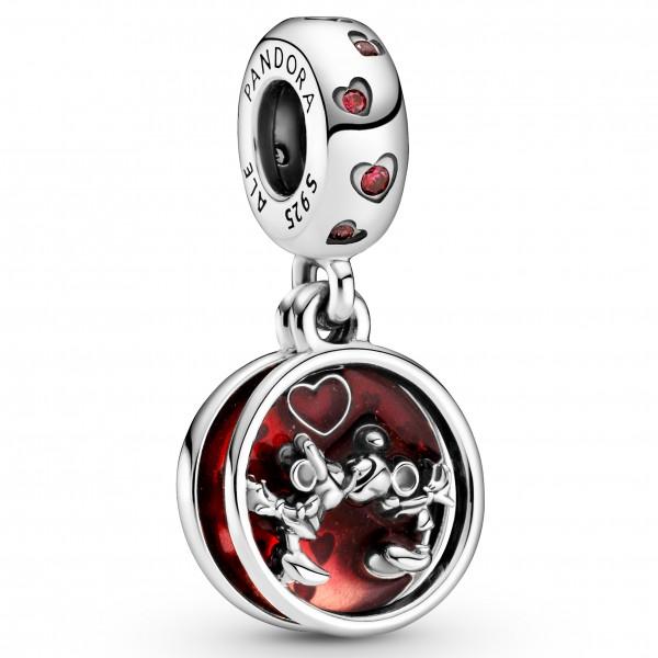 Disney Micky Maus & Minnie Maus Liebe und Küsse PANDORA Charm-Anhänger 799298C01