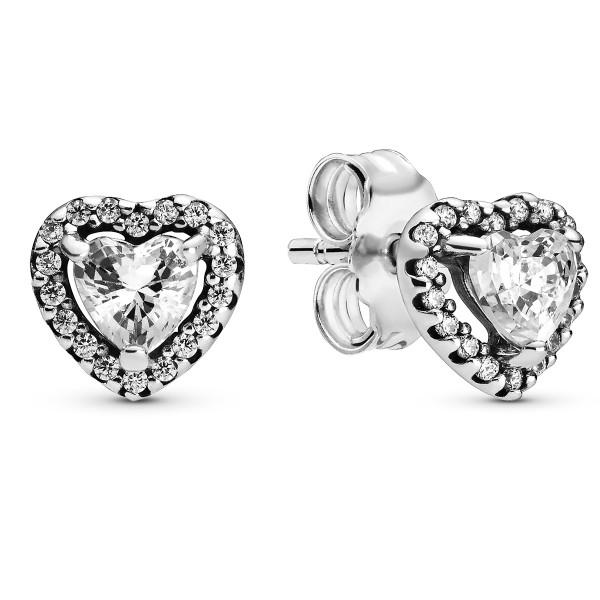 Elevated Hearts PANDORA Ohrrstecker 925er Sterlingsilber 298427C01