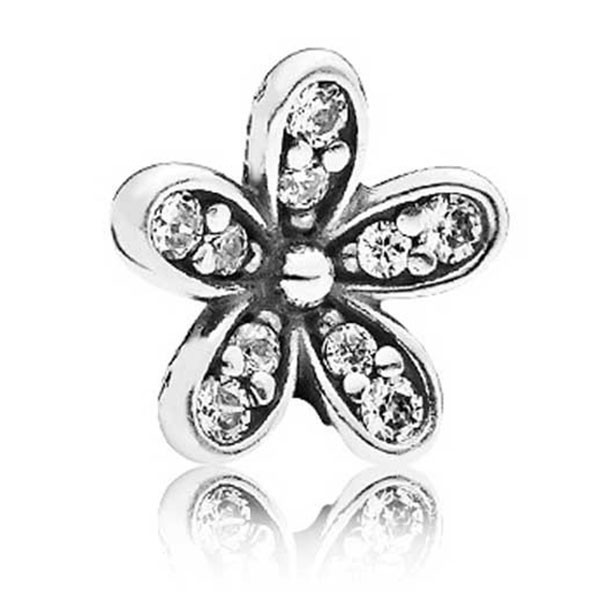PANDORA Medaillon Element Funkelndes Gänseblümchen 792173CZ
