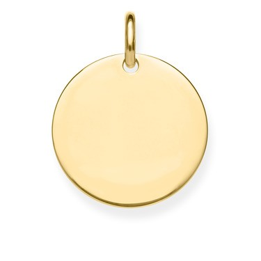LBPE0016-413-12 Thomas Sabo - Anhänger Silber vergoldet