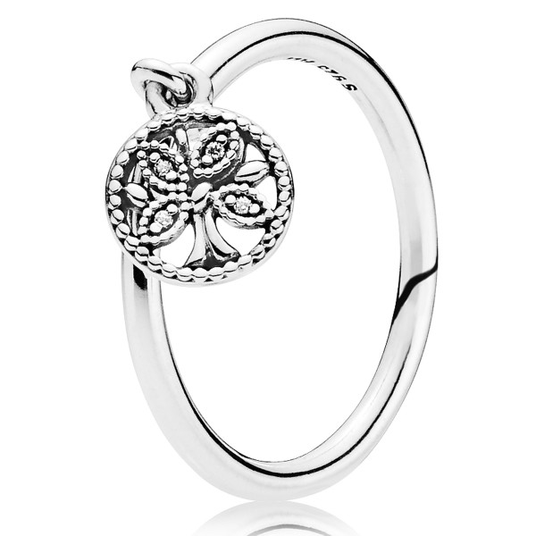 Tree of Life PANDORA Ring 197782CZ