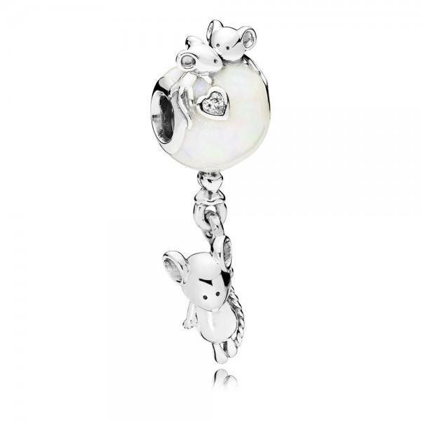 PANDORA Charm-Anhänger Mouse & Balloon 797240EN23
