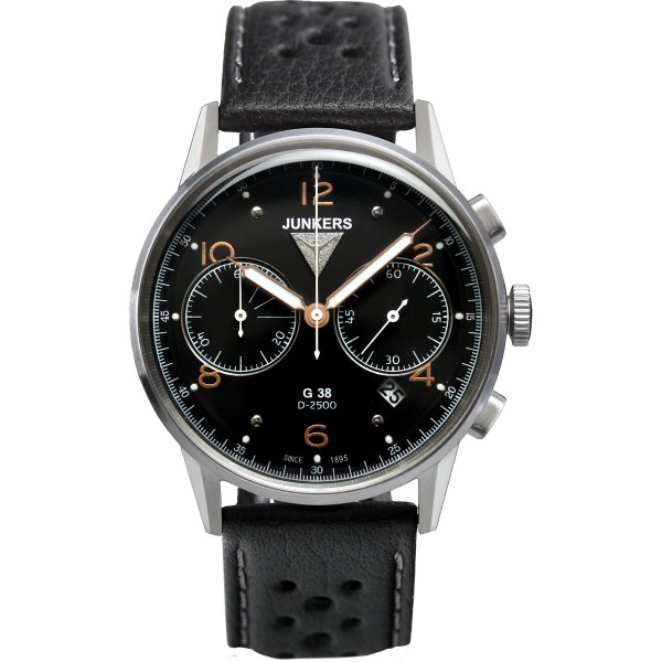 Junkers 6984-5 G38 Chronograph Herrenuhr