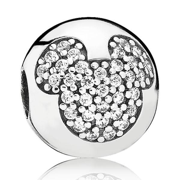 PANDORA Disney Micky Pave Charm 791449CZ