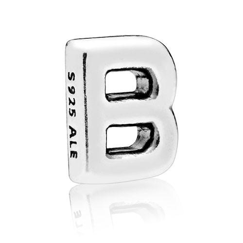 PANDORA Buchstabe B silver petite element 797319