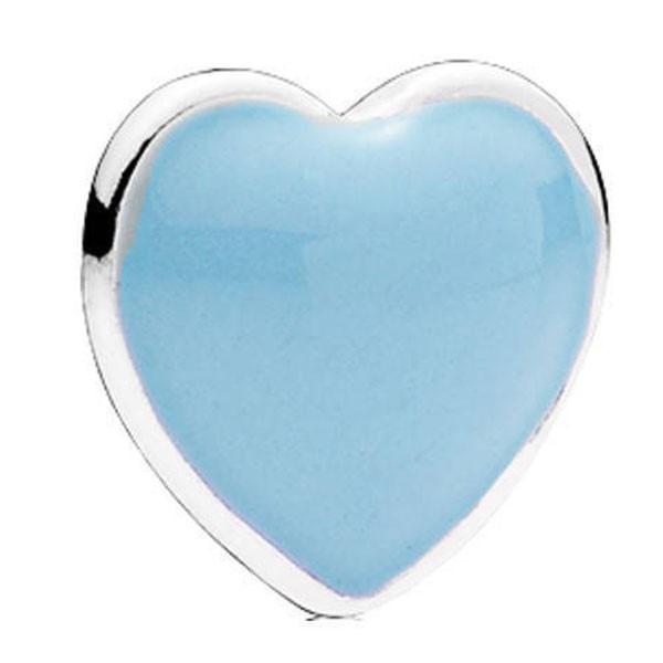PANDORA Medaillon Element Blaues Herz 792169EN41