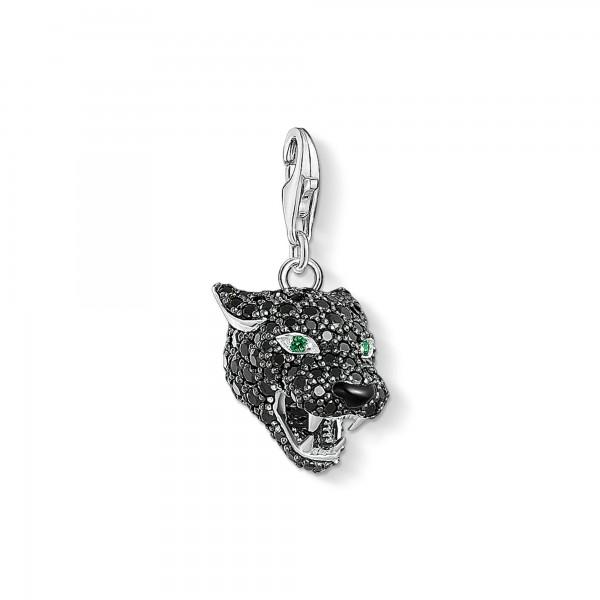 1696-845-11 Thomas Sabo Charm-Anhänger Black Cat