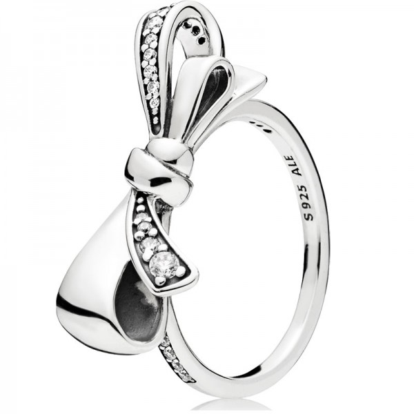 PANDORA Ring Brilliant Bow 197232CZ-48