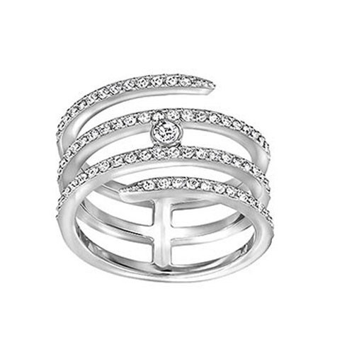 Swarovski Creativity Coiled Ring 5221422
