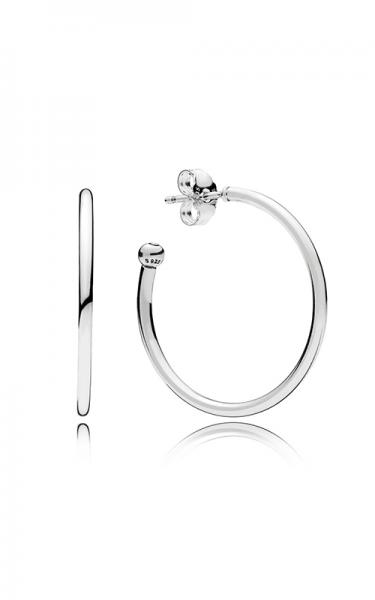 PANDORA Ohrringe Silver hoop 297727