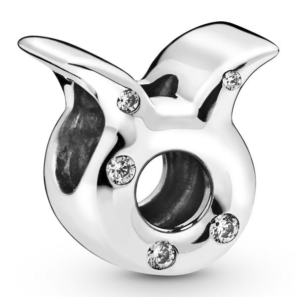 Taurus Zodiac Stier PANDORA Sternzeichen Charm 925er Sterlingsilber 798418C01