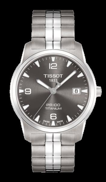TISSOT PR 100 Titanium Herrenuhr T0494104406700