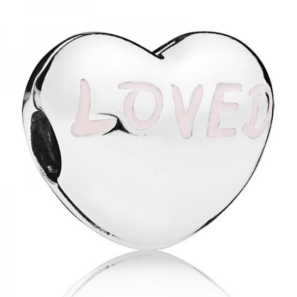 PANDORA Clip Loved Heart 797807EN124